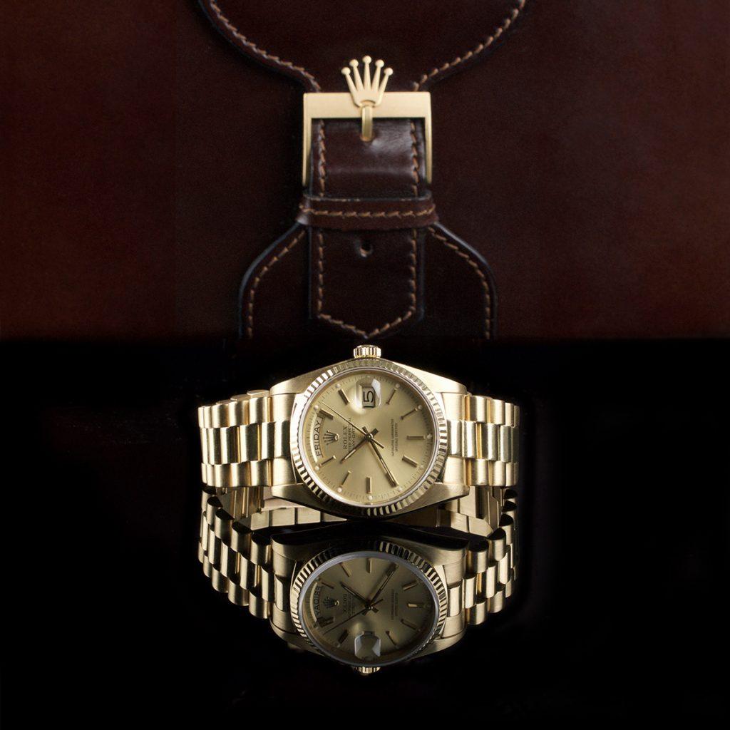 Foto af Rolex Day Date 18k ref. 18038