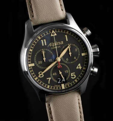 Photo of Alpina Watch Startimer Pilot Big Date Camouflage Grey