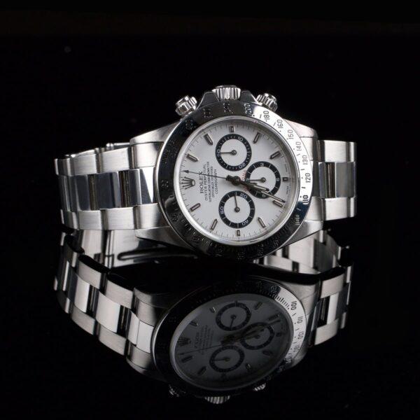 Photo of Mint Rolex Daytona Zenith 16520 S-series White