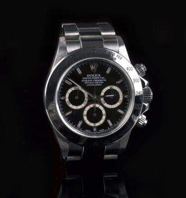 Photo of Rolex Daytona Zenith 16520 A-series Black
