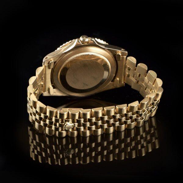 Photo of Stunning Rolex GMT 1675 18k Gold Nipple Dial Tobacco Bezel