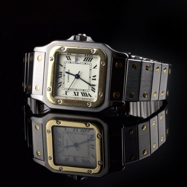 Photo of mens watch Cartier Santos Automatic