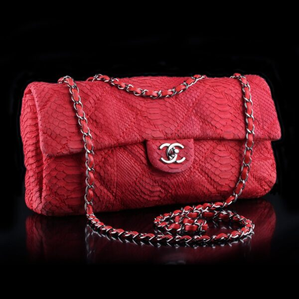 Photo of Chanel Bag Red Python