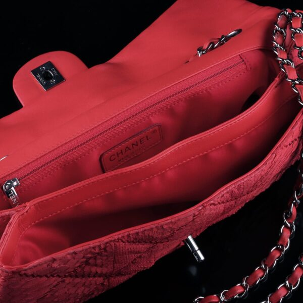 Photo of Chanel Bag Red Python