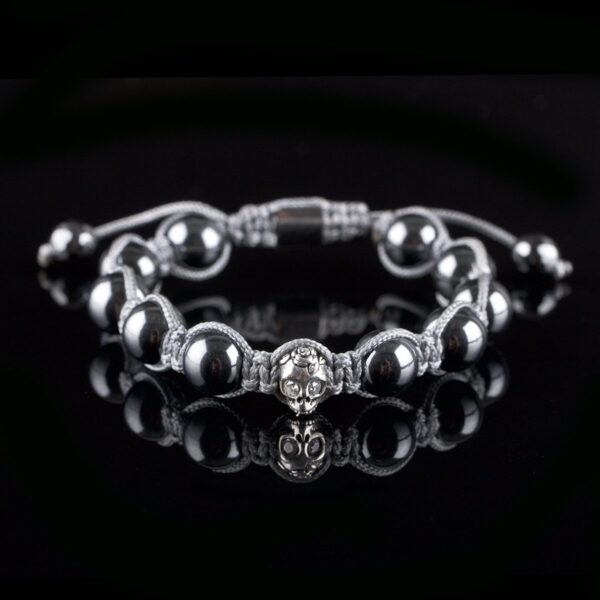 Photo of Hematite beads and skull bracelet
