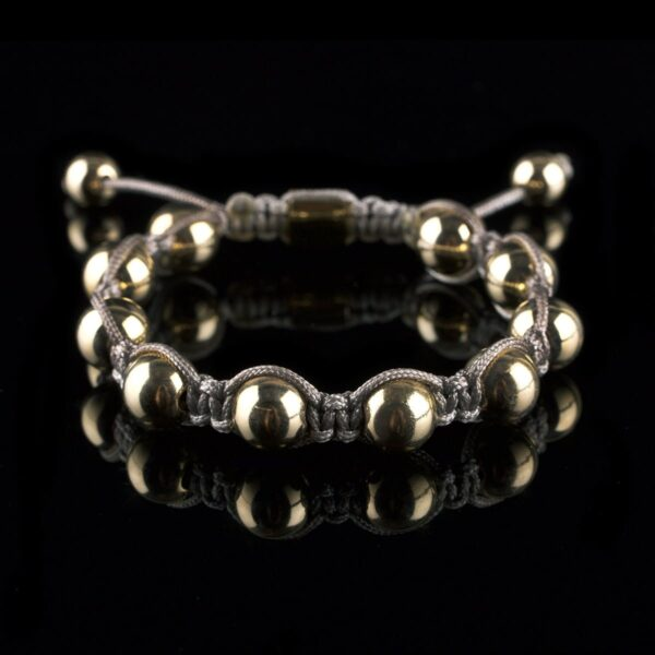 Photo of gold bead bracelet