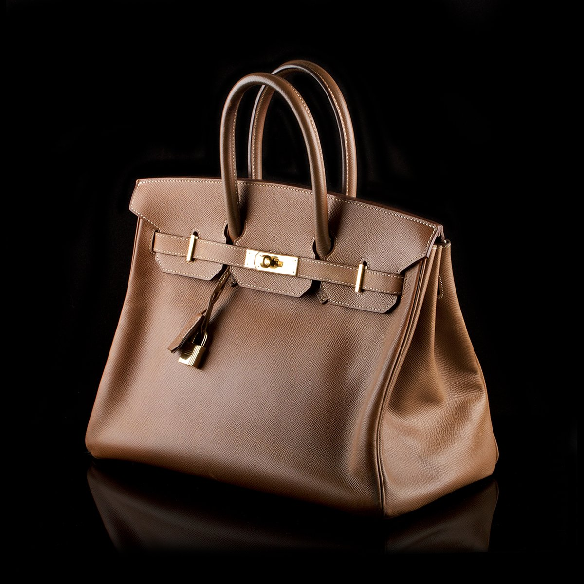 24ba1b58e871 Hermès Birkin 35 Handbag Cognac Epsom Leather - Classic390