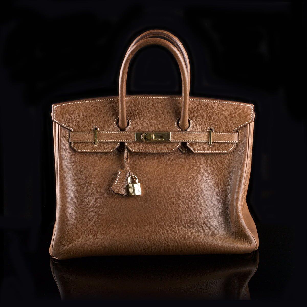 392a44fe624e Hermès Birkin 35 Handbag Cognac Epsom Leather - Classic390