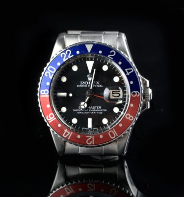 Photo of Super vintage Rolex GMT 1675 Pepsi Matte Dial