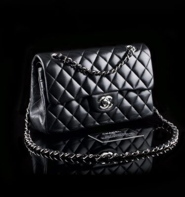 Foto af  Chanel 2.55 Timeless Classic Flap Bag Small Black