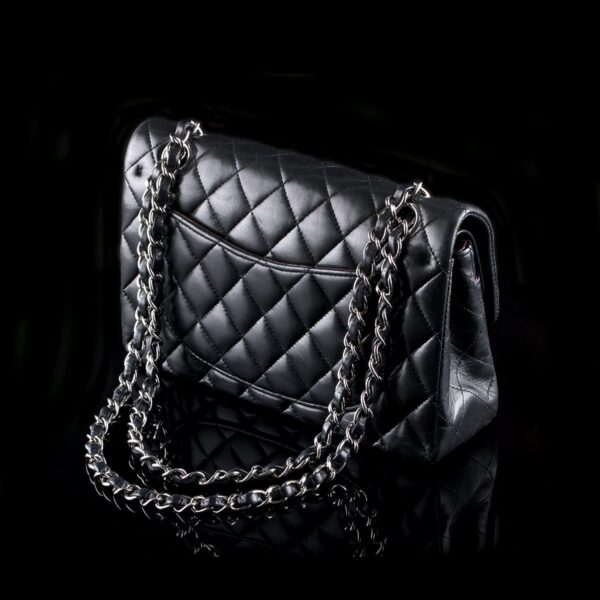 Photo of Chanel 2.55 Timeless Classic Flap Bag Small Black