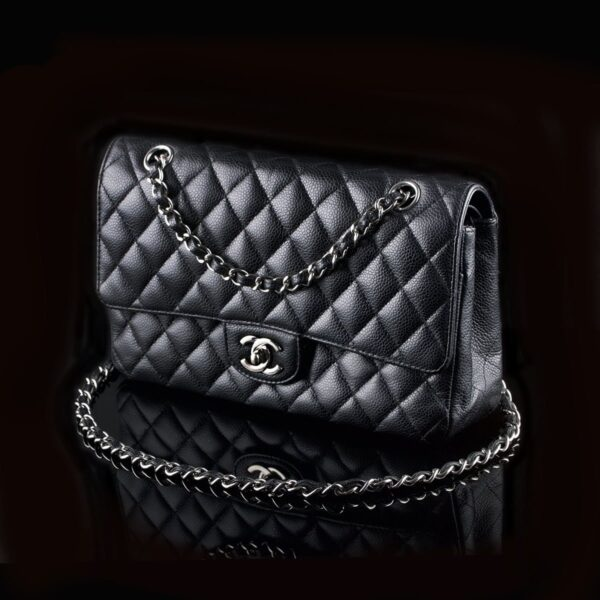 Photo of Chanel 2.55 Timeless Classic Flap Medium Caviar