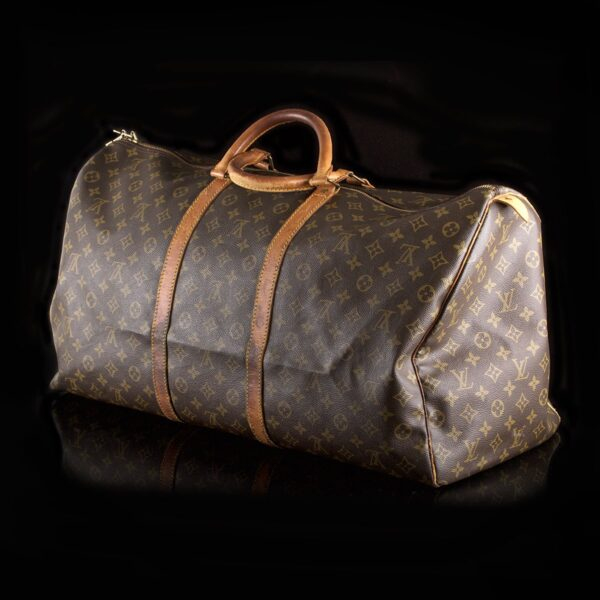 Photo of Louis Vuitton Keepall 55 Monogram Canvas Weekend Bag