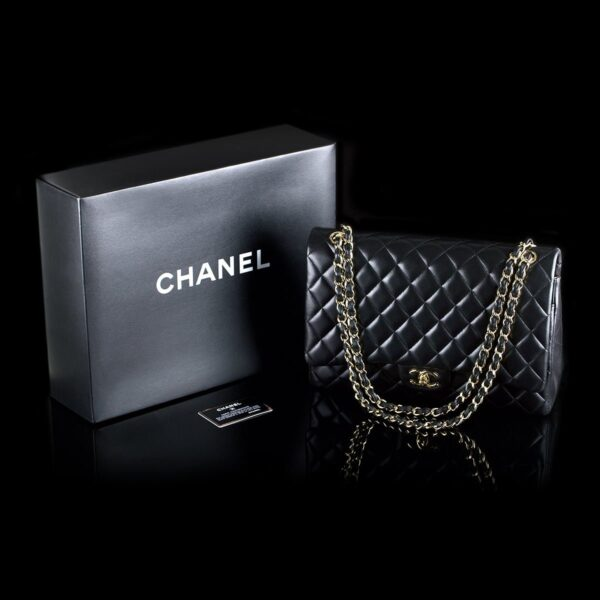 Photo of Chanel shoulder bag model Maxi Double Flab
