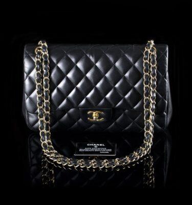 Foto af Chanel skuldertaske model Jumbo Dobbelt Flab