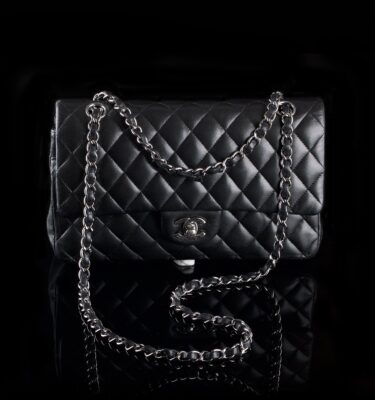 Photo of Chanel shoulder bag model Medium Double Flab