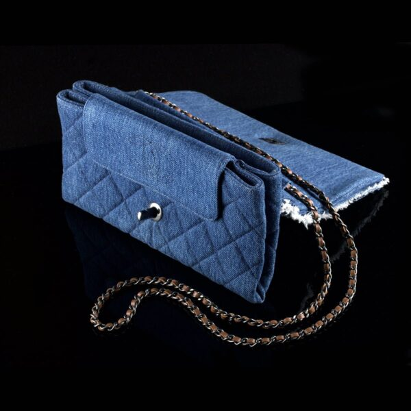 Photo of Chanel shoulder bag model Denim