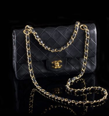 Foto af Chanel cross body taske model 255 medium