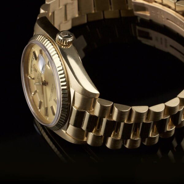 Photo of Rolex DayDate 18k gold reference 18038