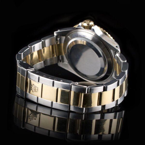Photo of Rolex Submariner 16613LB Gold And Steel Sunburst Dial