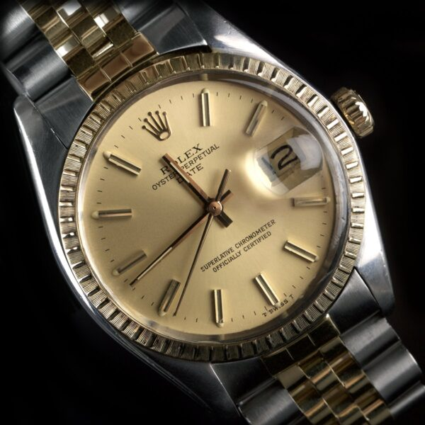 Photo of Rolex Date 1505 gold steel 1978