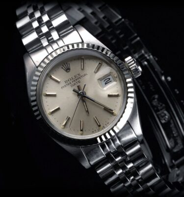 Photo of Rolex ladies watch, Date, steel and white gold