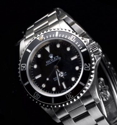 Photo of Rolex Submariner No Date Steel 14060 Black Dial