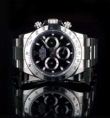 Photo of Rolex Daytona reference 116520 black dial