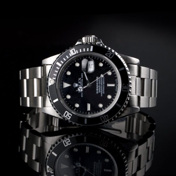 Photo of Rolex Submariner Steel 16800 Black Dial