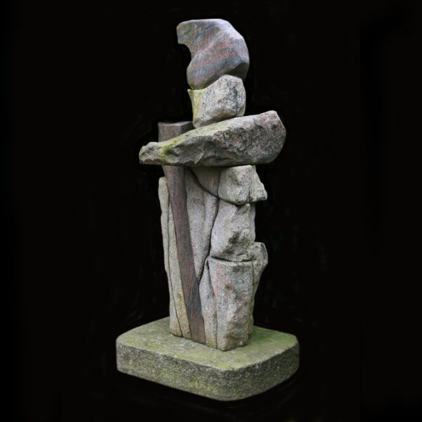 Photo of Finn Nielsen Granite Sculpture 200x90 Stack