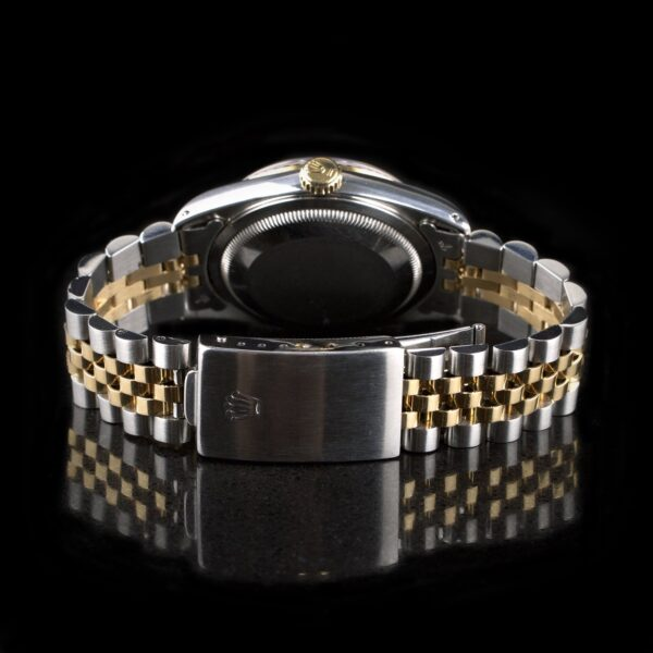 Photo of Rolex Datejust gold steel with diamonds