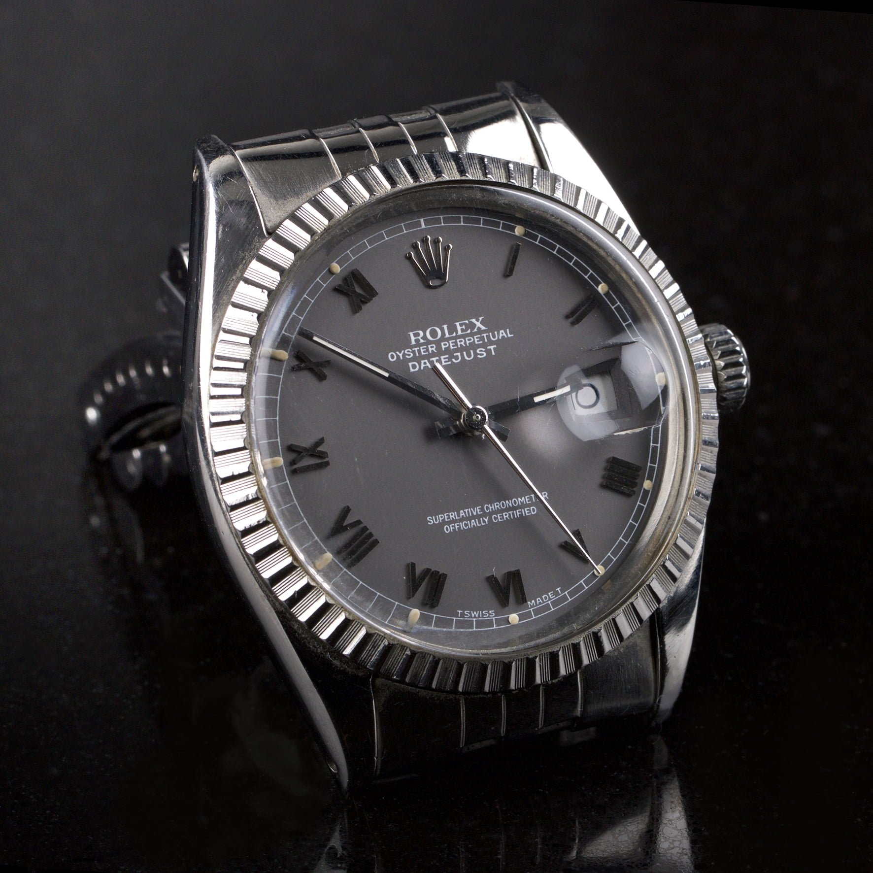 73683ebd76a1 SOLD! Vintage Rolex Datejust ref 16030 Plexi - Classic390