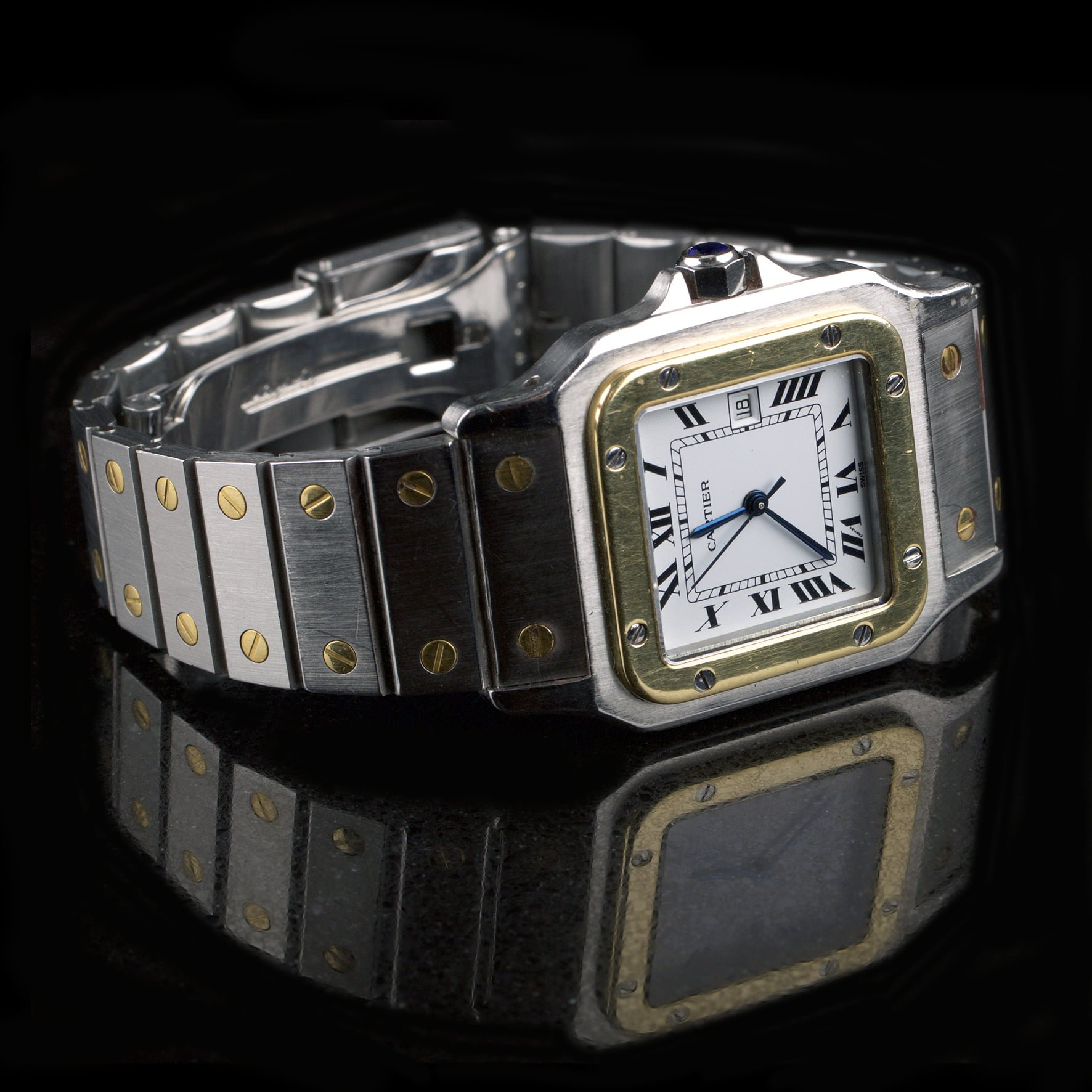 1db481987cd4 Cartier Santos Galbee Reference 4812 - Classic390