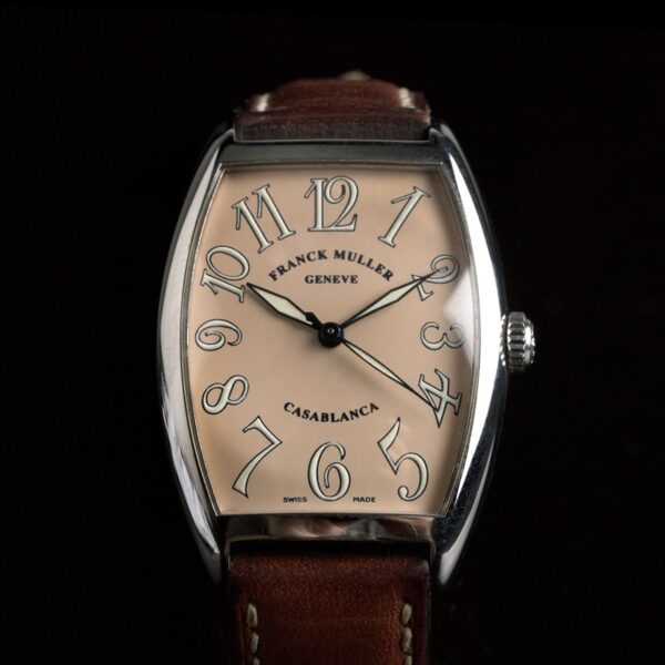 Photo of Franck Muller Casablanca 2852 Salmon Dial