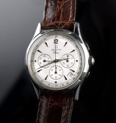 Photo of Mens Watch Zenith El Primero silver dial