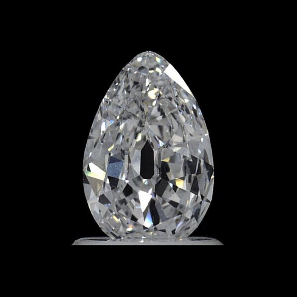 Photo of pear shaped diamond 0,83 Carat