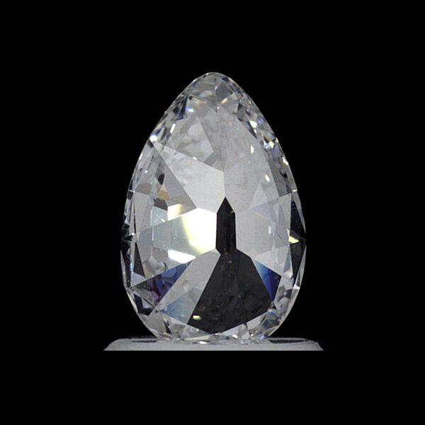 Photo of pear shaped diamond 0,83 Carat