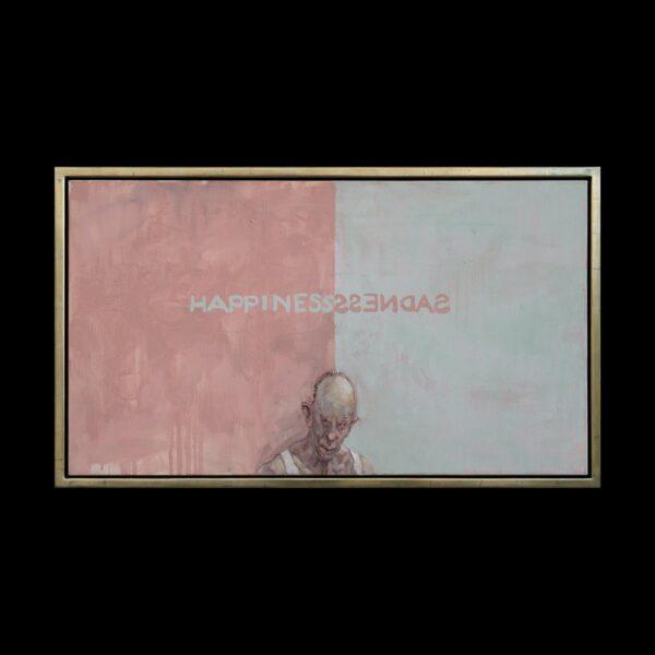 Photo of Michael Kvium Painting 65x115 Madness Painting 2005