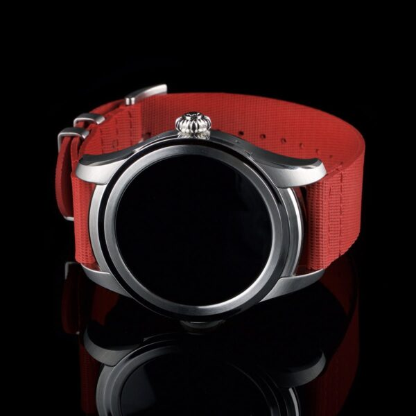 Photo of Montblanc Summit Smartwatch with red strap