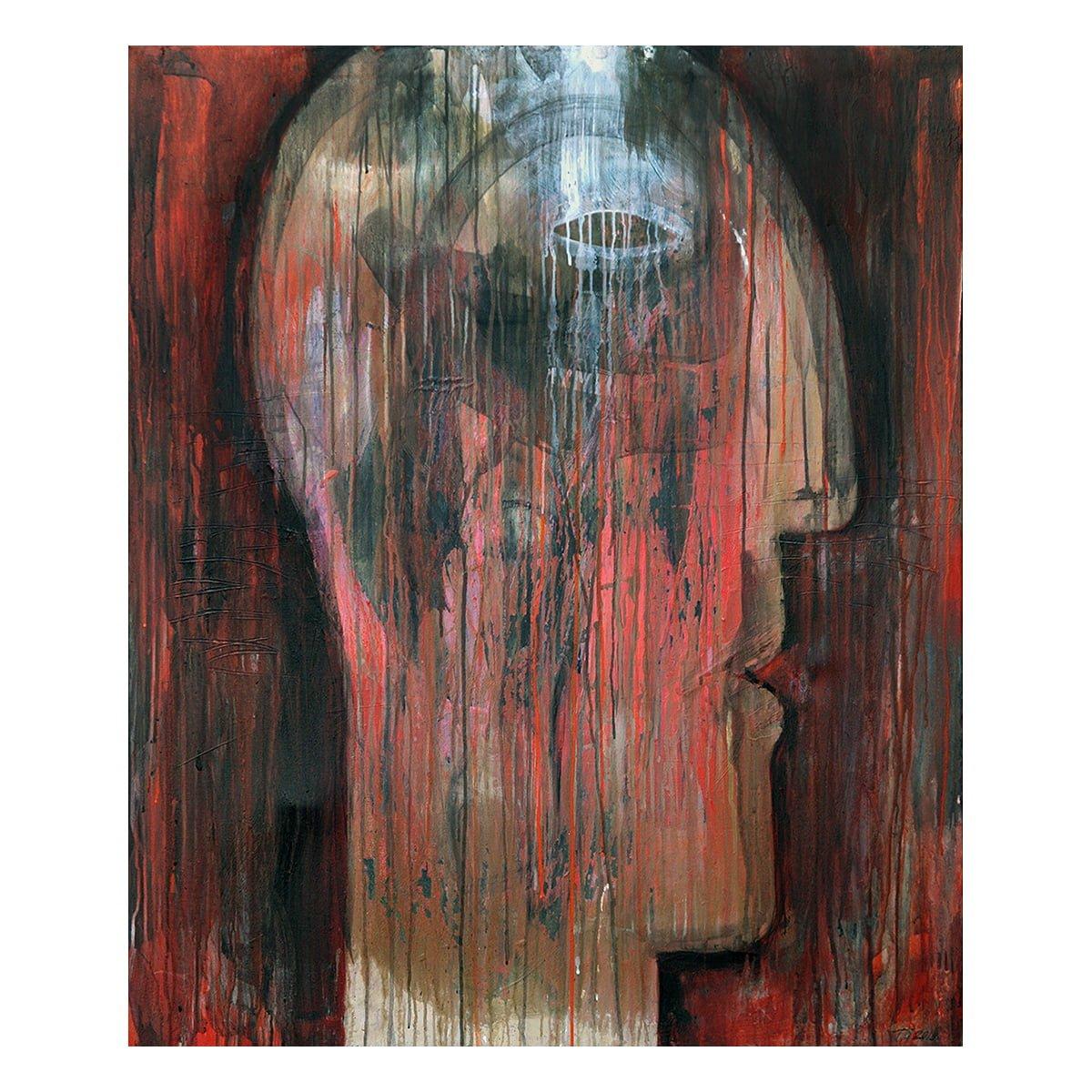 Photo of Terese Andersen Painting 120x100 Glow