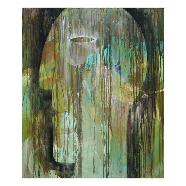 Photo of Terese Andersen Painting 120x100 Heat