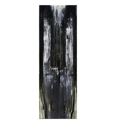 Photo of Terese Andersen Painting 120x40 Full Moon
