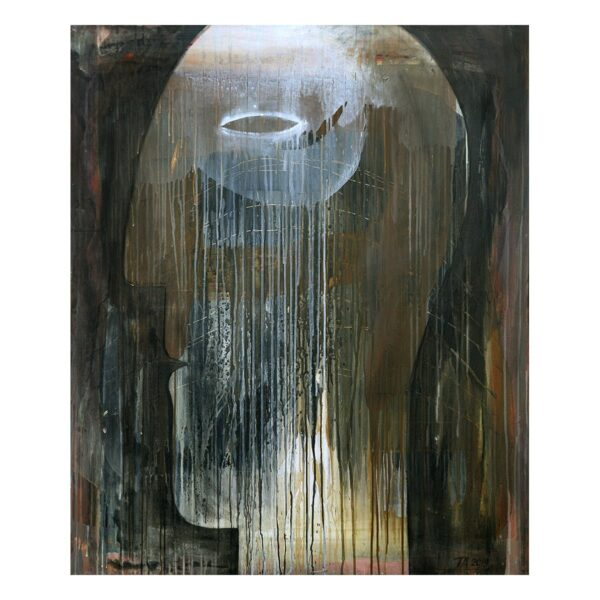 Photo of Terese Andersen Painting 120x100 Way Out