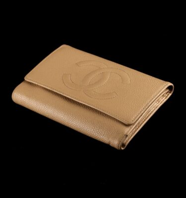 Photo of Chanel Wallet Camel Caviar