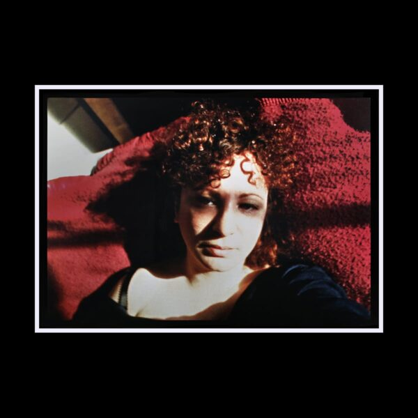 Photo of Nan Goldin Cibachrome self portrait